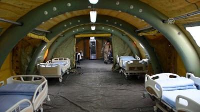 TSK'dan Afrinlilere acil yardım hastanesi - CİNDERES