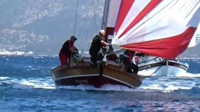 Yelken yarışlarında heyecanlı anlar yaşandı - MUĞLA