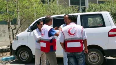 hastane - Yemen'de Kızılhaç ekibine silahlı saldırı - TAİZ
