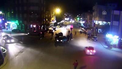4 kişinin yaralandığı trafik kazası güvenlik kamerasında - KONYA