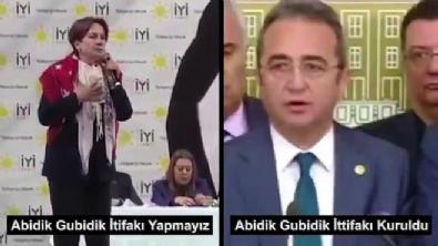 Akşener 'CHP'yle ittifak kurmayız' demişti