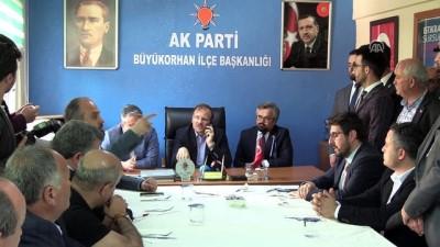 Başbakan Yardımcısı Çavuşoğlu'ndan 'CHP-İYİ Parti ittifakı' yorumu - BURSA