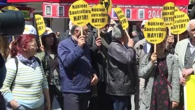 Çernobil felaketinin 32. yılı - Nükleer karşıtı eylem - İSTANBUL