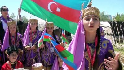 Dünya çocukları 'dostluk festivali'nde buluştu - ANTALYA