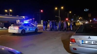 Edremit'te korkunç kaza ucuz atlatıldı Video