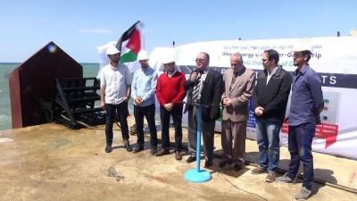 Gazzeli mühendisler, dalga enerjisinden elektrik üretecek - GAZZE
