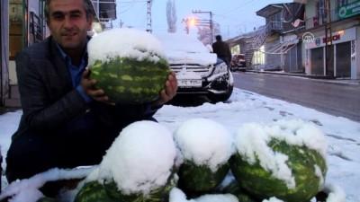 Kar ve sis hayatı olumsuz etkiledi - VAN
