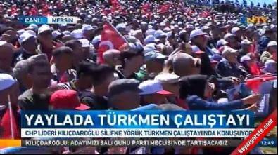 kemal kilicdaroglu - Kılıçdaroğlu: Osmanlı, yörüklere zulmetti