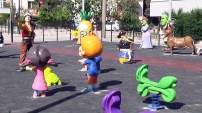 Masal kahramanları bu parkta çocuklarla buluşuyor - SAKARYA