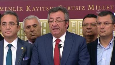 (TEKRAR) - CHP Grup Başkanvekili Engin Altay: '15 milletvekilimiz partimizden istifa etti ve İYİ Parti'ye katıldılar' - TBMM