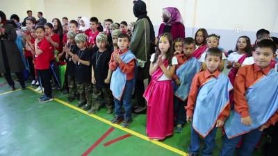 Ahıska Türkü çocukların öz vatanlarındaki bayram mutluluğu - ERZİNCAN