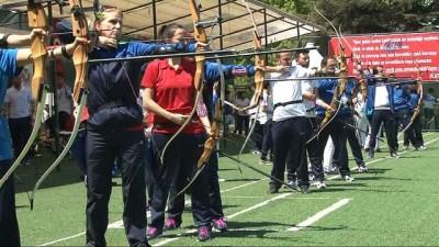 """Başkent'te düzenlenen """"4. Basın Mensupları Okçuluk Turnuvası"""" tamamlandı"""