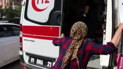 Pencereden düşen halıyı almaya çalışırken ağır yaralandı - ADANA