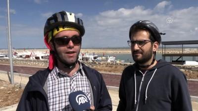 'Beraber' pedal çevirerek Van Gölü'nü turladılar - VAN