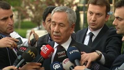Bülent Arınç: 'Güzel olumlu bir görüşmemiz oldu. Ayrıca aktif siyasi hayatta bulunmaya niyetim yok'