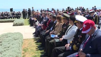Çanakkale Kara Savaşları'nın 103. yıl dönümü - İngiliz Milletler Topluluğu Anıtı'nda tören - ÇANAKKALE