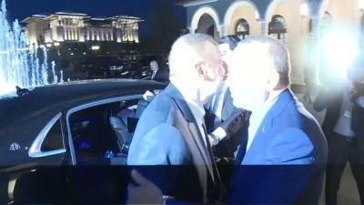 Cumhurbaşkanı Erdoğan, Aliyev onuruna akşam yemeği verdi - ANKARA