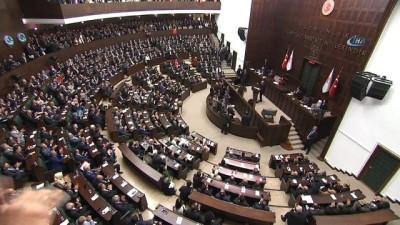 Cumhurbaşkanı Erdoğan: 'Meclis Genel Kurulu'ndaki tartışmaları tasvip etmiyorum. Kendi hastalıklı siyasetlerini milli bayramımızı zehirlemek için kullananları şiddetle kınıyorum'