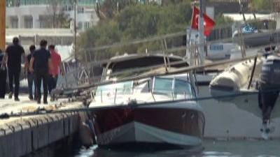 FETÖ'cüleri taşıyan kaçak teknesi kayalıklara çarptı