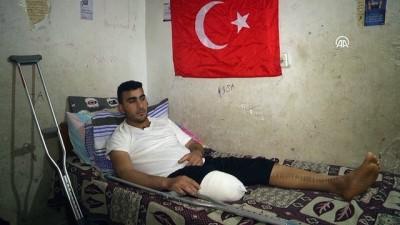 'Gazzeli genç Erdoğan'ın hediye ettiği bisikleti artık süremeyecek' - GAZZE