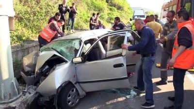 Kazada ölen kişinin telefonuna itfaiye müdürü baktı - ZONGULDAK