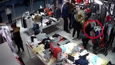 Alışveriş merkezlerinde hırsızlık yapan şüpheliler tutuklandı - İSTANBUL