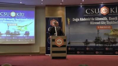 'Doğu Akdeniz'de Güvenlik, Enerji Stratejileri ve Küresel Güç İlişkileri' konferansı - LEFKOŞA