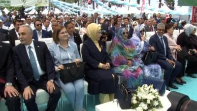 """Emine Erdoğan:'2023 hedefimiz 2 milyon ton üretim ve 500 milyon dolarlık ihracattır"""""""