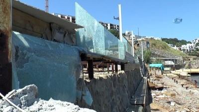 Hadise'yi yıkan haber... La Plajı'nın yıkım sebebi ortaya çıktı