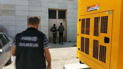 Samsun'da uyuşturucu operasyonu: 10 gözaltı Haberi
