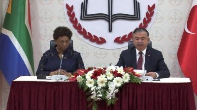 Türkiye ile Güney Afrika arasında 'Eğitim İşbirliği Anlaşması' imzalandı - ANKARA