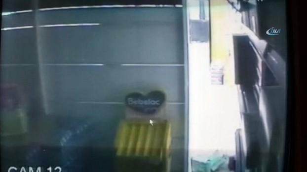 deprem ani -  Deprem anında yaşanan panik kamerada