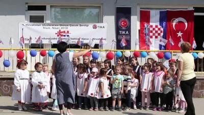 Hırvatistan'da 1. Uluslararası Çocuk Festivali - SİSAK
