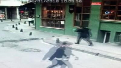 Kadıköy'de liseli genç kıza yumruk atan saldırgan hakkında yakalama kararı