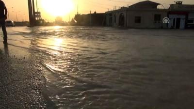 Nusaybin'de içme suyu borusu patladı - MARDİN