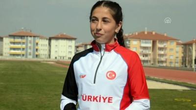 Türkiye şampiyonu milli atlet, olimpiyatları hedefliyor - KÜTAHYA