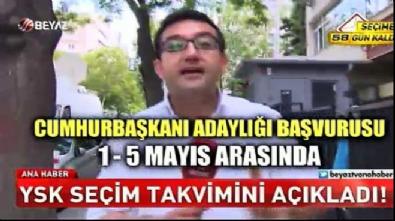 YSK, 24 Haziran seçim takvimini tamamladı