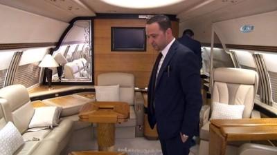 24 ayar altın kaplama uçak Antalya'da