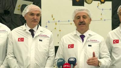 Bakan Arslan: '(Türksat 6A) Ülkemizin bu sektördeki kazanımı anlamında çok önemli' - ANKARA
