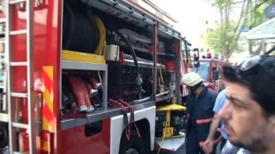 Fatih Eminönü'nde otelde yangın paniği