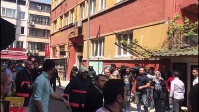 Fatih'te otelde yangın (4) - İSTANBUL