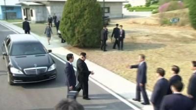 - Güney Ve Kuzey Kore Liderleri Sınırda Barış İçin Ağaç Dikti