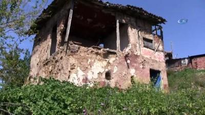 salda -  Yıkılmak üzere olan evde oturan aileyi belediye kurtardı