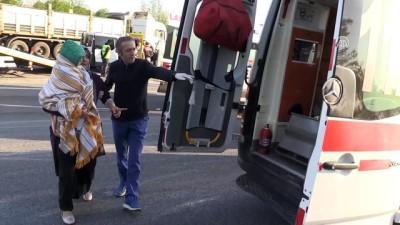 Anadolu Otoyolu'nda trafik kazası: 7 yaralı - DÜZCE