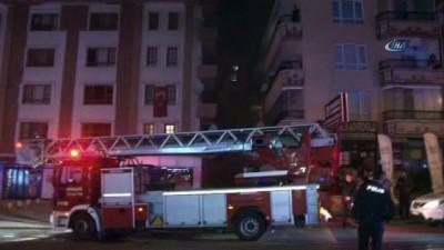 Başkent'te apartman dairesinde patlama