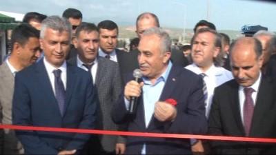 Gıda Tarım ve Hayvancılık Bakanı Eşref Fakıbaba,Cizre'de Hayvan Pazarı'nın açılışını gerçekleştirdi