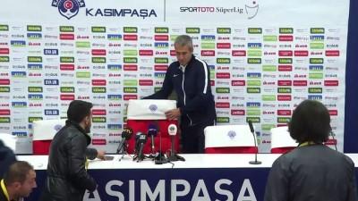 devre arasi - Kasımpaşa - Fenerbahçe maçının ardından - Kemal Özdeş - İSTANBUL