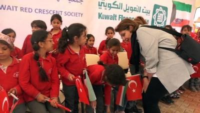Kuveyt Kızılayı'ndan Suriyeli yetimlere 'Yaşam Evi'