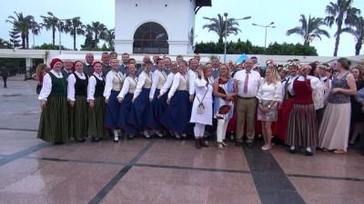 Letonya'nın bağımsızlık günü, Antalya'da kutlandı