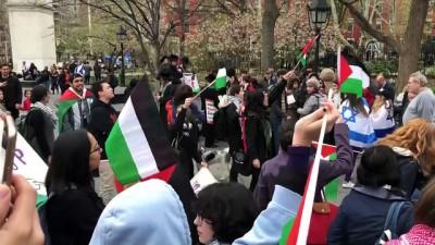 New York'ta Gazze protestosu - NEW YORK